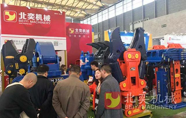 BeiYi Products win great attention at 2018 Bauma China