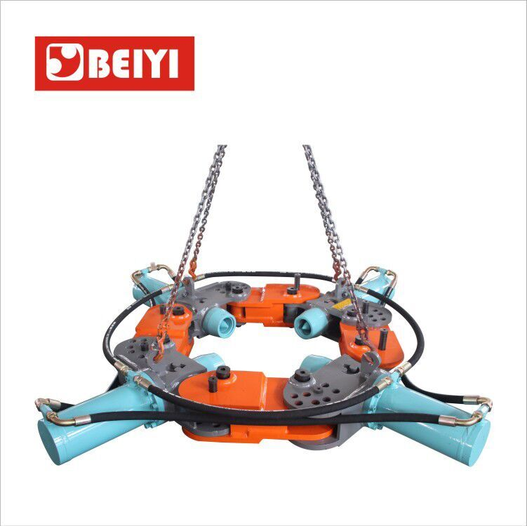 MK-PB400S-4models add 4 connections Hydraulic round pile breaker-hydraulic pile head cutter