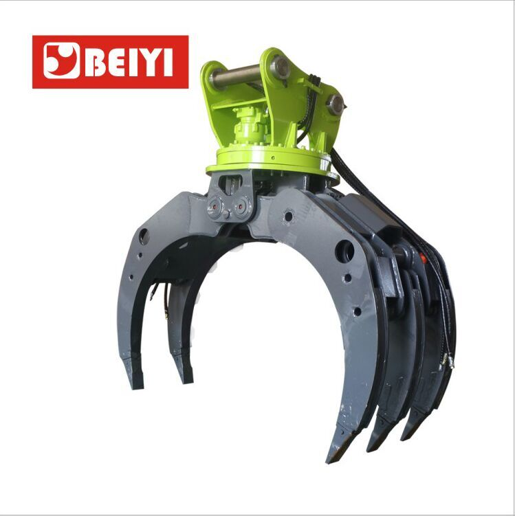 BYKL 08 Hydraulic Grapple-Excavator Accessories Hydraulic Grappler