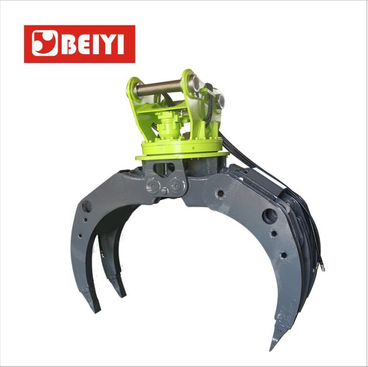 BYKL 06 Hydraulic Grapple-hydraulic excavator rotating grapple