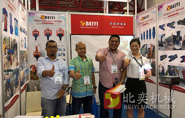 BeiYi in 2018 Indonesia Exhibition
